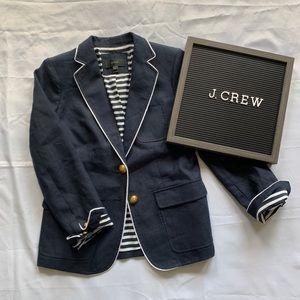 J Crew RHODES Navy Blazer PETITE